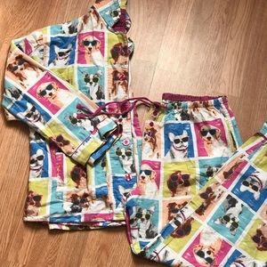 PJ Salvage flannel pajama set